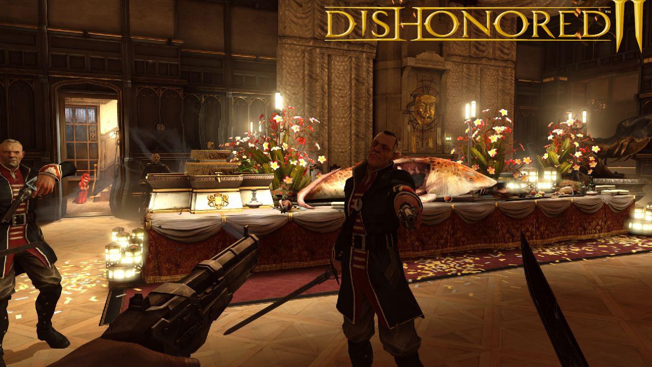 Как сделать dishonored на русском